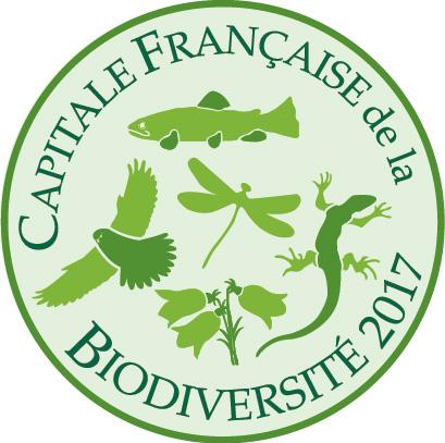Logo capitale de la biodiversité 2017