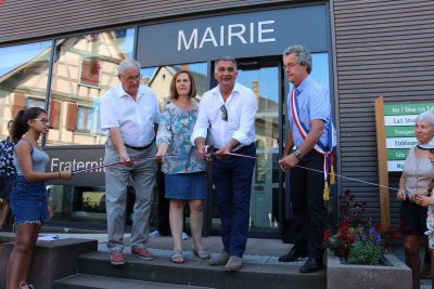 Inauguration Mairie et Chemins Transition